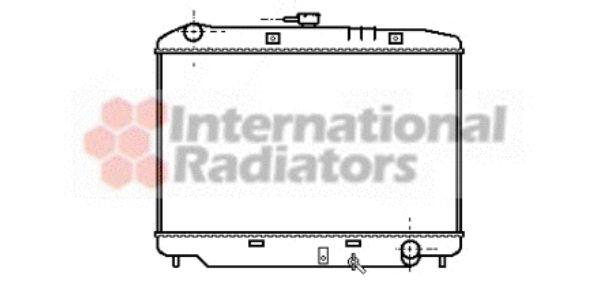 Radiateur, refroidissement du moteur - VAN WEZEL - 37002179