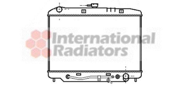 Radiateur, refroidissement du moteur - VWA - 88VWA37002180