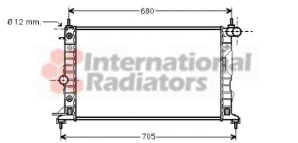 Radiateur, refroidissement du moteur - VWA - 88VWA37002324