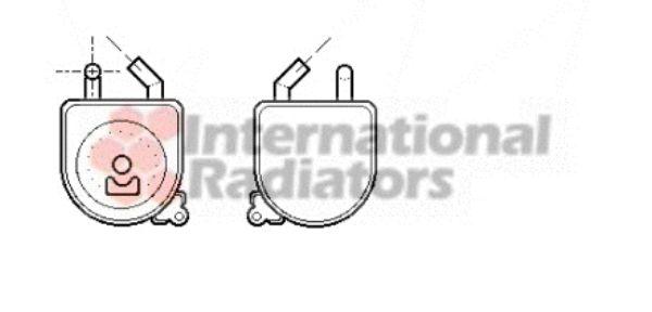 Radiateur d'huile - VAN WEZEL - 37003194