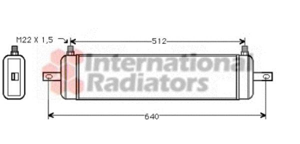 Radiateur d'huile - VAN WEZEL - 37003212