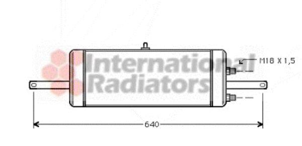 Radiateur d'huile - VAN WEZEL - 37003237