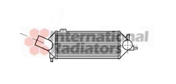 Intercooler, échangeur - VAN WEZEL - 37004069