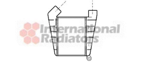 Intercooler, échangeur - VAN WEZEL - 37004204