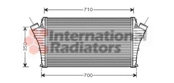 Intercooler, échangeur - VWA - 88VWA37004361