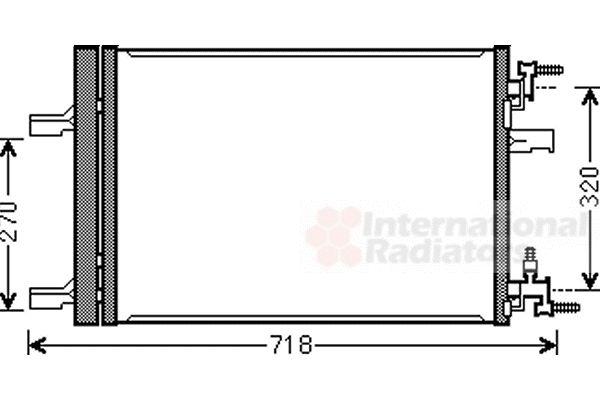 Condenseur, climatisation - VWA - 88VWA37005500