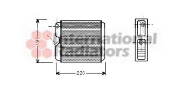 Système de chauffage - VAN WEZEL - 37006240