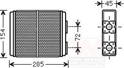 Système de chauffage - VAN WEZEL - 37006403