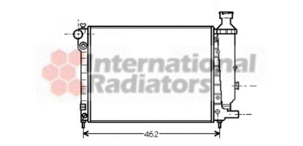 Radiateur, refroidissement du moteur - VAN WEZEL - 40002012