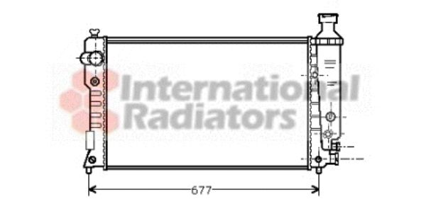 Radiateur, refroidissement du moteur - VWA - 88VWA40002126