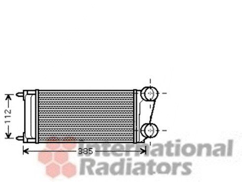 Intercooler, échangeur - VAN WEZEL - 40004299