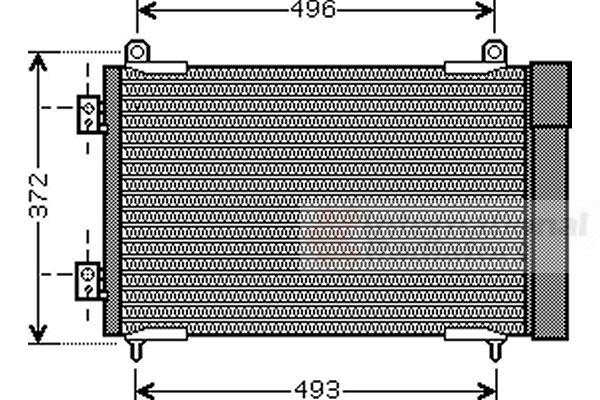 Condenseur, climatisation - VWA - 88VWA40005258