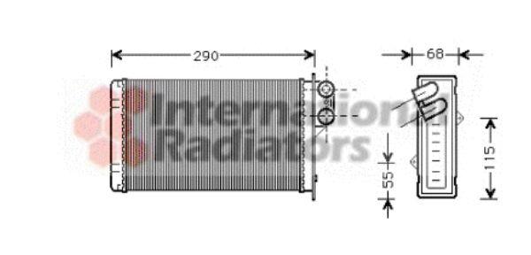 Système de chauffage - VAN WEZEL - 40006100
