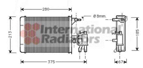 Système de chauffage - VAN WEZEL - 40006134