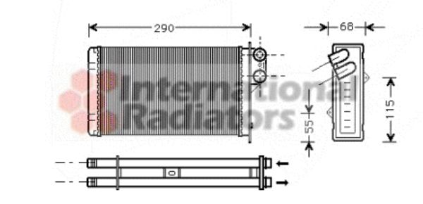 Système de chauffage - VAN WEZEL - 40006172