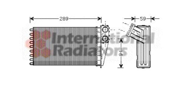 Système de chauffage - VAN WEZEL - 40006227
