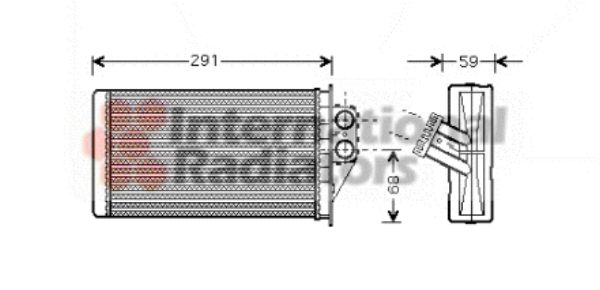 Système de chauffage - VAN WEZEL - 40006228