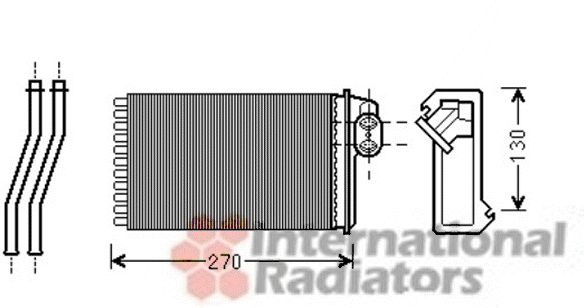 Système de chauffage - VAN WEZEL - 40006340