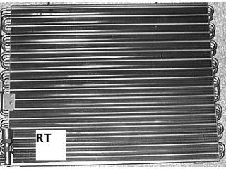 Condenseur, climatisation - VAN WEZEL - 01005064