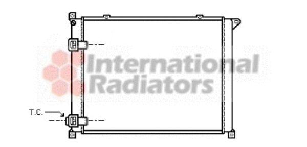 Radiateur, refroidissement du moteur - VAN WEZEL - 43002137