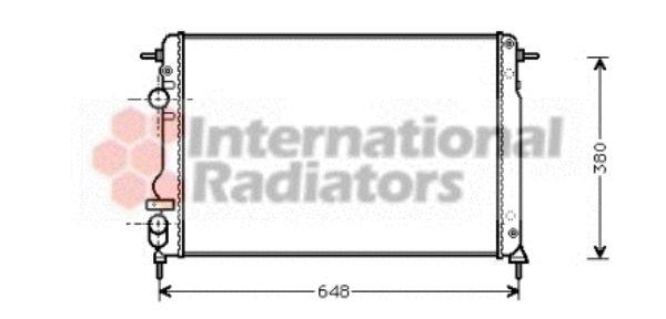 Radiateur, refroidissement du moteur - VAN WEZEL - 43002312
