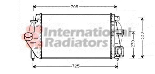Intercooler, échangeur - VWA - 88VWA43004212