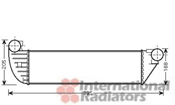 Intercooler, échangeur - VWA - 88VWA43004397