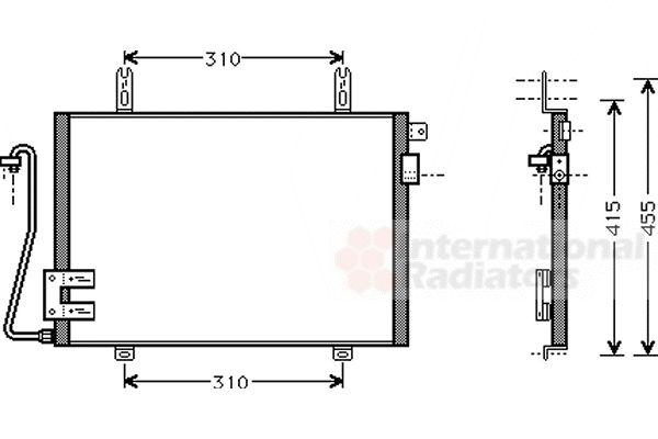 Condenseur, climatisation - VWA - 88VWA43005221