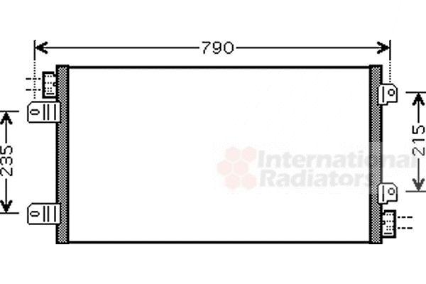Condenseur, climatisation - VWA - 88VWA43005342