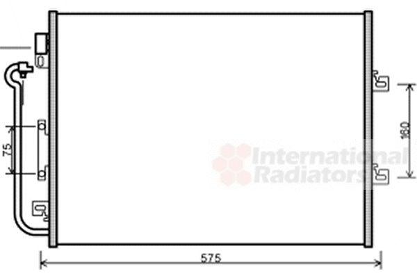 Condenseur, climatisation - VWA - 88VWA43005454