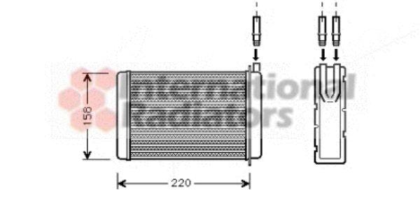 Système de chauffage - VAN WEZEL - 43006090