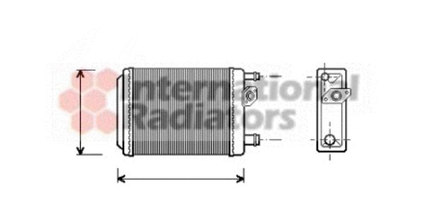 Système de chauffage - VAN WEZEL - 43006097