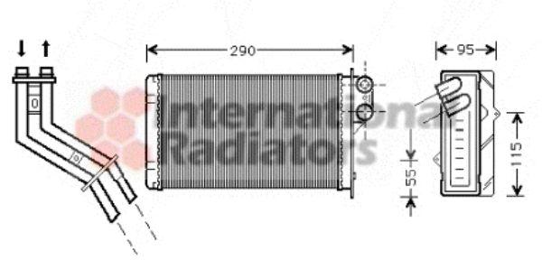 Système de chauffage - VAN WEZEL - 43006227