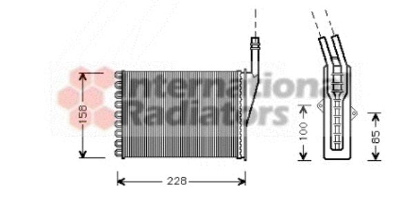 Système de chauffage - VAN WEZEL - 43006250