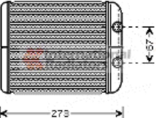 Système de chauffage - VAN WEZEL - 43006343