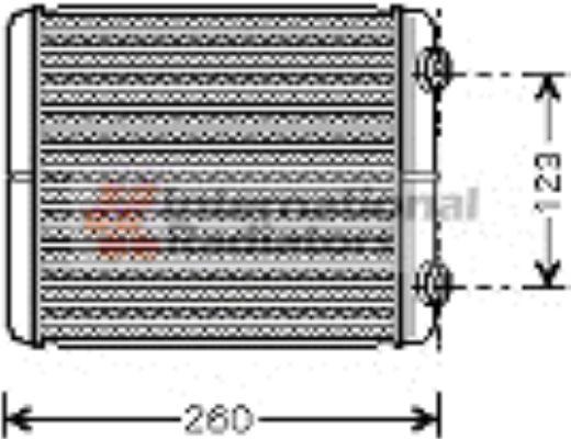 Système de chauffage - VAN WEZEL - 43006344