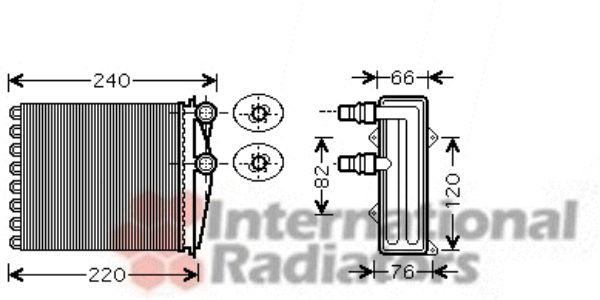 Système de chauffage - VAN WEZEL - 43006380