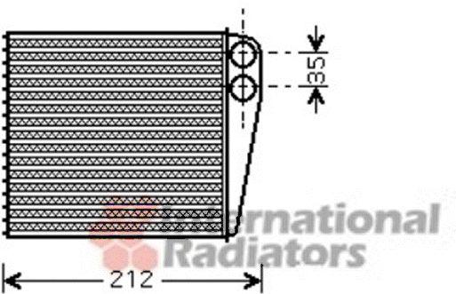 Système de chauffage - VAN WEZEL - 43006396
