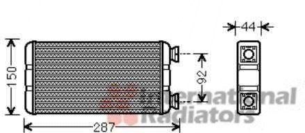 Système de chauffage - VAN WEZEL - 43006457