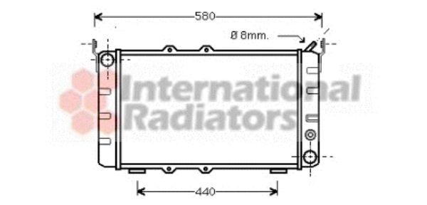 Radiateur, refroidissement du moteur - VWA - 88VWA76002001