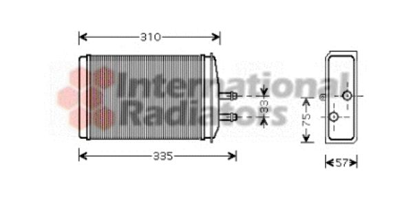 Système de chauffage - VAN WEZEL - 76006016