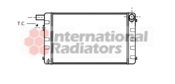 Radiateur, refroidissement du moteur - VAN WEZEL - 47002007