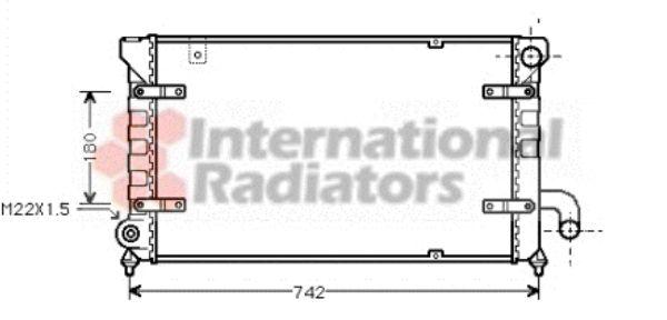 Radiateur, refroidissement du moteur - VWA - 88VWA49002028