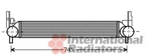 Intercooler, échangeur - VAN WEZEL - 49004039