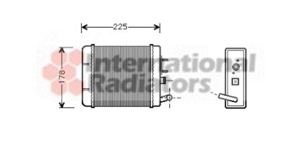 Système de chauffage - VAN WEZEL - 49006014