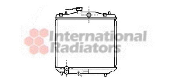 Radiateur, refroidissement du moteur - VAN WEZEL - 51002021