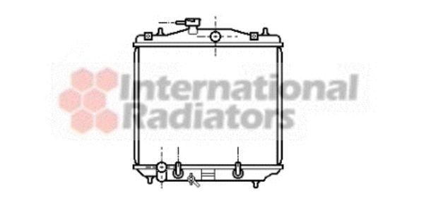 Radiateur, refroidissement du moteur - VAN WEZEL - 51002022