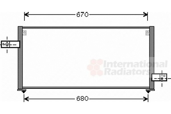 Condenseur, climatisation - VWA - 88VWA51005061
