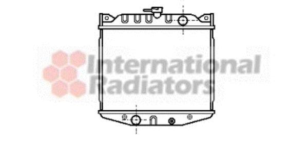 Radiateur, refroidissement du moteur - VAN WEZEL - 52002004