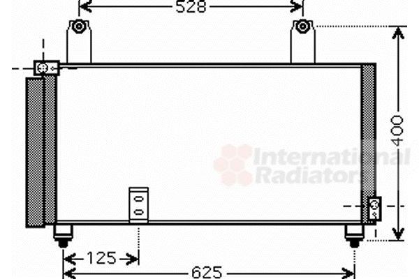 Condenseur, climatisation - VWA - 88VWA52005081